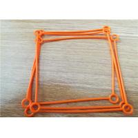 China Silicone Rubber Die Cut Rubber Gaskets Rectangular Stand / Nostand Custom on sale