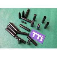 Quality Black Custom Injection Molds Parts ABS + PC Industrial Tubes wholesale