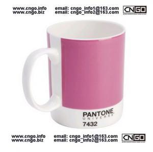 Quality GIFTS MUG PANTONE colors mug to your LOVER mugs NO.7432MUG CERAMIC wholesale
