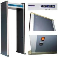 Quality ABNM600A 6 detection zones walk through metal detector with LED alarm lights wholesale