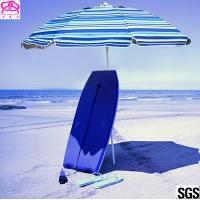 Quality Windproof Folding Sun Beach Umbrella With Vented Tilt Telescoping Pole Adjustable wholesale