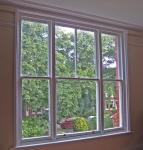 Quality High Security Aluminium Double Glazed Sash Windows In Ventilation Control wholesale