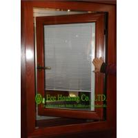 Quality Aluminum Adjustable Louver Casement Window With Double Glazing,windows with blinds inside wholesale