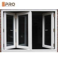China Dust Resistance Double Glazed Windows / Aluminum Folding Windows on sale