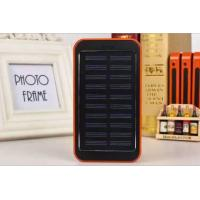 20000mah Waterproof Solar Rechargeable Power Bank With Polymer Batteries