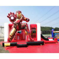 Quality OEM Iron Man Ultimate Combo Inflatable Bounce House 5Lx4Wx3.5H Meter wholesale