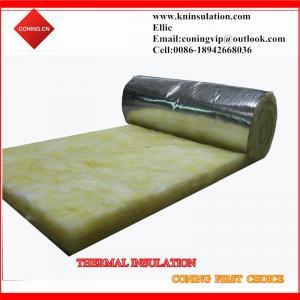 China Heat insulation glass wool felt on sale