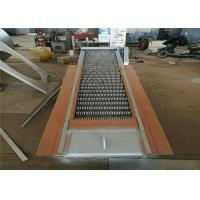 Buy cheap Customized Wastewater Fine Screens SS304 SS316 Material 75° Inclined Angle from wholesalers