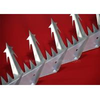 China Rust Proof Anti Climb Spikes 1.25M Length Galvanized For Stand Alone Barrier on sale