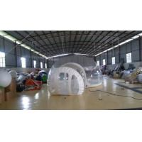 Inflatable Transparent Bubble Tent Belt Steel for Outdoor Camping