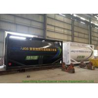 Quality Heating Insulated 20FT Tank Container Stanless Steel For PolyetherPolyol / PMPO wholesale
