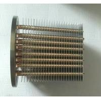Buy cheap Finishing Passivation Copper Pipe Aluminum Fin Heat Sink / Thin Heatpipe from wholesalers