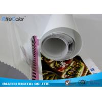 Quality Eco Solvent PP Synthetic Paper , Adhesive Matte Polypropylene Film Rolls wholesale