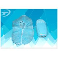 Cheap Non woven blue pp disposable surgical shoe cover for Medical use for sale
