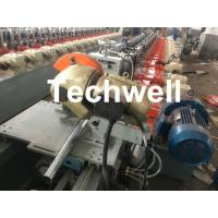 Quality Custom made Octagonal Aluminum Or Galvanized Steel Tubing Roll Forming Machine With PLC Frequency Control wholesale