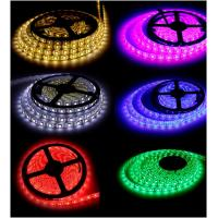 Quality Indoor or outdoor 12V SMD5050 waterproof RGB led light strip set for decoration wholesale