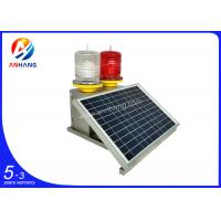 Cheap AH-MS/R OEM/ODM ICAO Type A/B Solar white and red led chimney aviation warning for sale