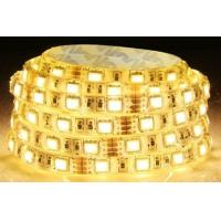 China 150 Led/5m Yellow Flexible Led Light Strips 12 - 14 Lumens/Led For Architecture Car on sale