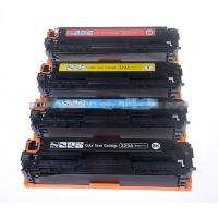 Quality For HP 128A CE320A 321A 322A 323A Color Toner Cartridges Used For HP CP1525 CM1415 wholesale