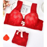 Quality Missy vest bra bridfs set, Ladys sexy underwear,grils red bra set, bridal lace bra, wholesale