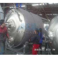 Steam/Electric Heating Double Jacketed Mixing Tank, Liquid Detergent Making Vessel, Shampoo Mixing Machine