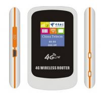 Quality 4G lte Carfi portable LTE router with sim card slot wholesale