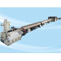China Low Noise PE Pipe Machine / Pe Pipe Production Line Stable Extruding 132kw on sale