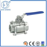Quality 2 Inch Stainless 316 3 Piece BSP Ball Valve wholesale