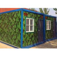 Quality Flexible Exquisite Mobile Container Homes , Kids Small Moving Containers With Decoration wholesale