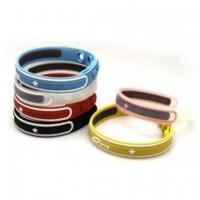 China Germanium Color Boost Energy Silicone Bracelet for Boosting the Immune and Endocrine Syste on sale
