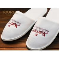 Quality Guest Room Disposable Hotel Slippers Sleep Shoes For 5 Star Hotel wholesale