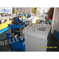 Quality Hydraulic Cutting Type Rolling Shutter Slats Roll Forming Machine With Punching Holes wholesale