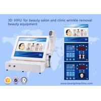 Quality 3D hifu for beauty salon and clinic wrinkle removal beauty equipment wholesale
