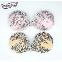 China cutie floral embroidery invisible push-up bra on sale