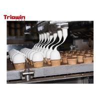 Quality 500 Tons /D Dairy Processing Line Ice Cream Manufacturing Equipment wholesale