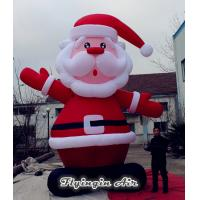 Quality Customized 5m Height Christmas Inflatable Santa Claus for Outdoor and Indoor Decoration wholesale