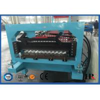 China Roofing Sheet Roll Forming Machine , Metal Forming Equipment on sale