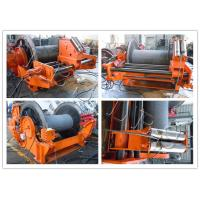 Quality Customized High Power Hydraulic Tugger Winch Lebus Grooves Long Life Span wholesale
