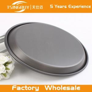 China Teflon Platinum Commercial Grade Baking Tray-Non stick Teflon Coated Pizza Pan for bakeware on sale