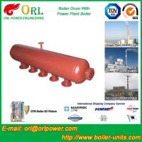 Quality Hot Water Boiler Drum For Power Station , Dryer Drum High Heating Efficiency wholesale