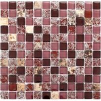 Quality Wall Decoration Kitchen Backsplash Mosaic Tiles Square Stone Marble Stickers wholesale