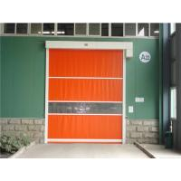 China Cold Protection High Speed Door Galvanized Steel Frame Quick Roll Up Doors on sale