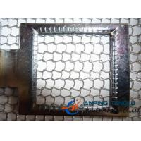 Quality 40-100Model Knitted Wire Mesh With SS304/304L/316/316L, Aluminum, Brass wholesale