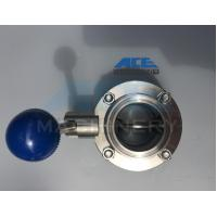 Cheap Stainless Steel Manual Threaded Butterfly Valve (ACE-DF-2C) for sale