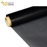 China Non - Stick PTFE Fiberglass Cloth 1000 - 4000mm Width For Thermal Insulation on sale