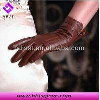 Quality fashional women sheepskin leather gloves wholesale