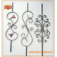 forged iron bar,forged iron baluster,ornamental baluster for garden fence and