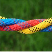 Quality high quality 10.5mm polyester safery braided rope used for mountain climbing and rescue wholesale