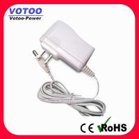 High efficiency 12V AC DC Power Adapter 2 Flat Pin Plug for CCTV security