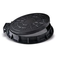Quality Round Light Duty Cast Iron Manhole Cover 600 x 600 With Frame SGS Approval wholesale